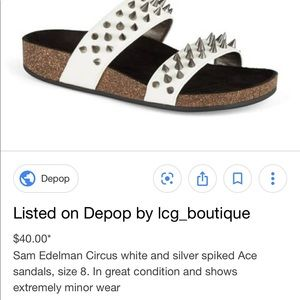8139338306ec Sam Edelman Shoes - Sam Edelman Spiked Sandals